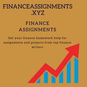 finance assignment help online finance homework and project help  finance assignment help